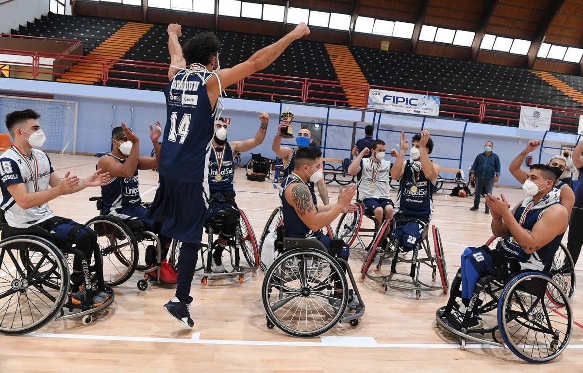 Basket in carrozzina #SerieA Fipic Coppa Italia 2020: l'UnipolSai Briantea84 è vincente per la quinta volta consecutiva!