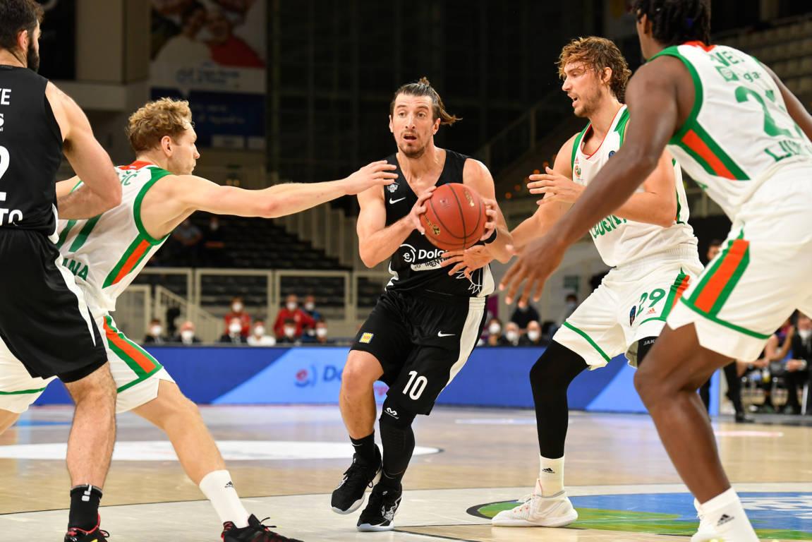 7DAYS Eurocup #Round6 2020-21: l'imbattuta Dolomiti Energia Trentino nel girone riceve i turchi del Bursaspor per blindare le Top 16