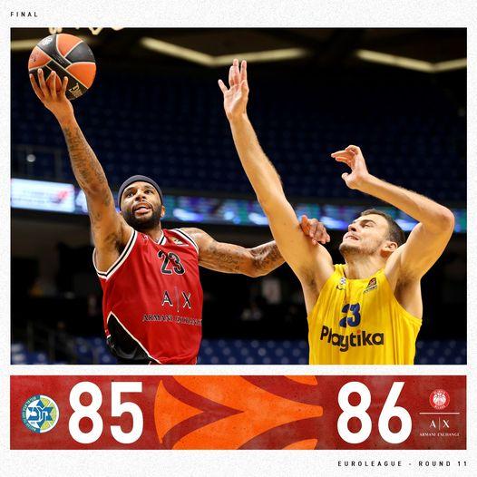 Turkish Airlines Euroleague #Round11 2020-21: Delaney fa esplodere il popolo biancorosso, finalmente l'Olimpia Milano espugna Tel Aviv