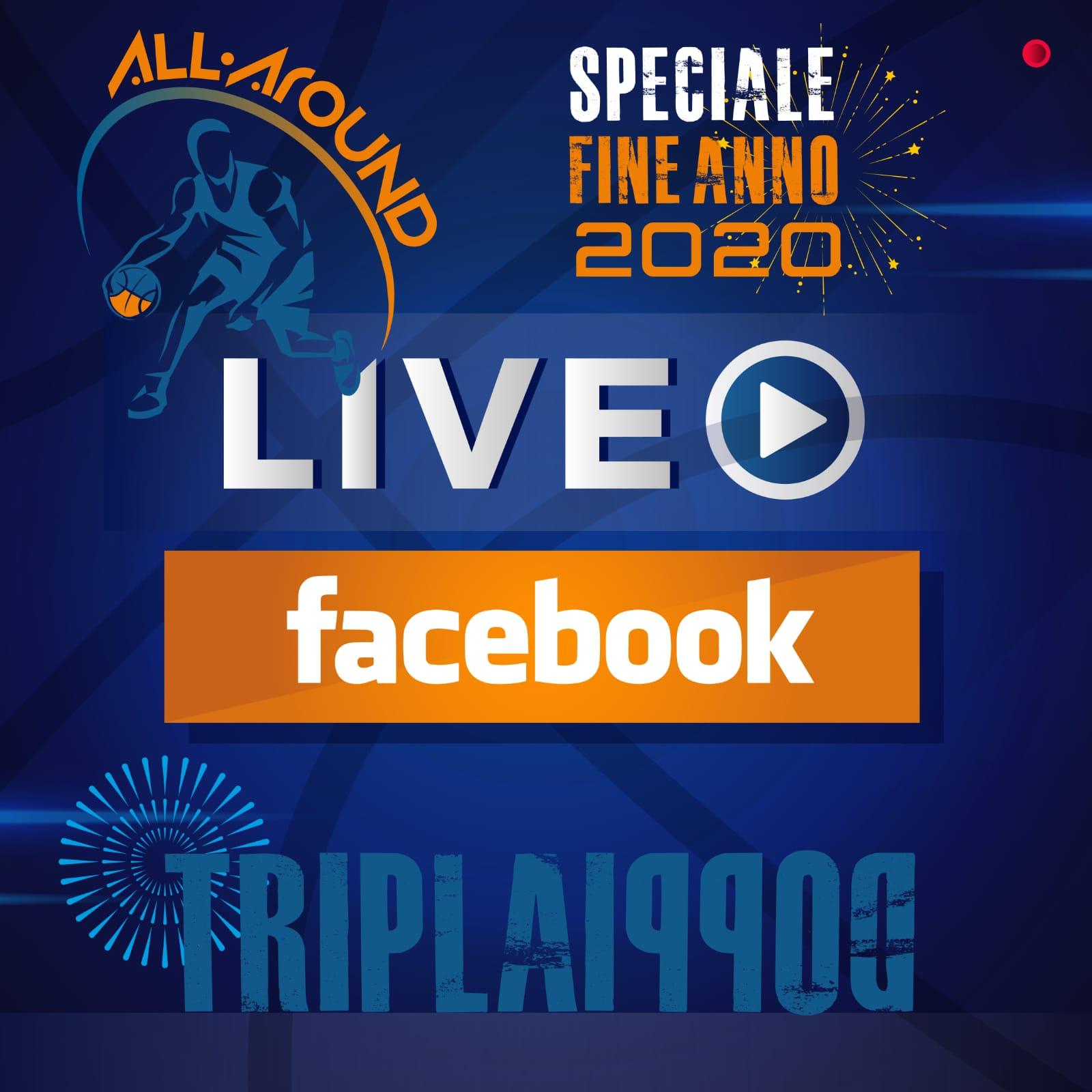 TriplaDoppia by All-Around.net 2020-21: 14^ Puntata della nuova stagione live su Facebook di TriplaDoppia ed ultima del 2020 con i tanti temi irrisolti...