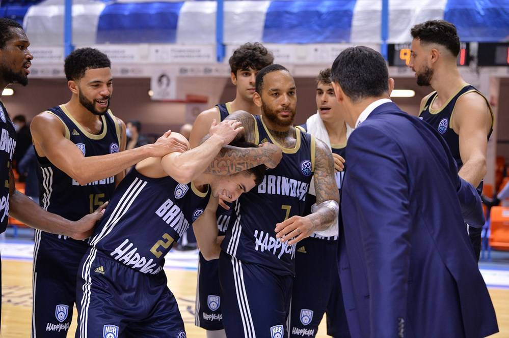 Basketball Champions League #Game4 2020-21: l'Happy Casa Brindisi batte in casa il Filou Oostende e prenota un posto per il prossimo turno