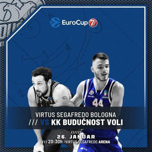 7DAYS Eurocup Top 16 #Round3 2020-21: la Virtus Segafredo Bologna attende il Buducnost VOLI Podgorica per consolidare il primo posto nel Gruppo G