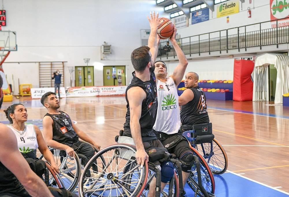Basket in carrozzina #SerieAFipic 1^ andata 2021: positivo debutto come pronostico per S.Stefano Avis, Briantea84, Amicacci, GSD Porto Torres
