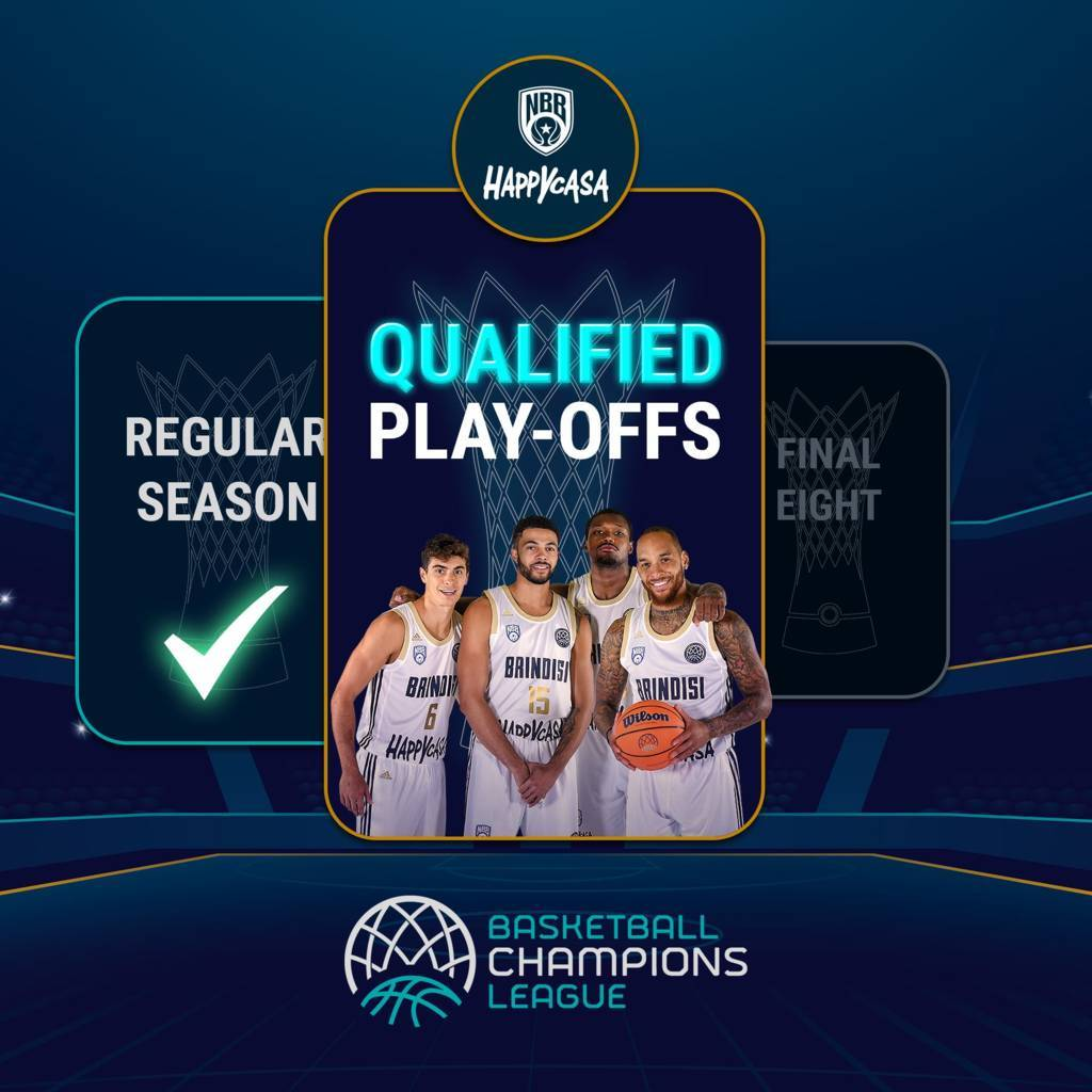 Basketball Champions League #Game5 2020-21: in Turchia vs il Darussafaka l'Happy Casa Brindisi fa la storia, vittoria e qualificazione al turno successivo