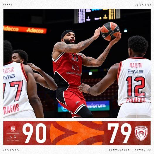 Turkish Airlines Euroleague #round22 2020-21: l'Olimpia Milano non si ferma più, sconfitto anche l'Olympiacos seppur a fatica