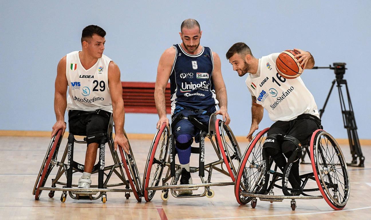 Basket in carrozzina #SerieAFipic 1^ andata 2021: finalmente le ruote in campo con S.Stefano AVIS da battere ma con l'Unipolsai Briantea84 indiziata a sfidarla