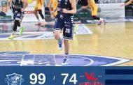 LBA Legabasket 1^ ritorno 2020-21: Dinamo Sassari-Carpegna Prosciutto Pesaro finisce 99-74 con i sardi trascinati da un super  Kruslin