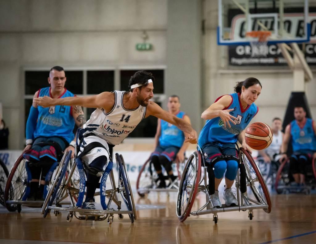 Basket in carrozzina #SerieAFipic 5^ giornata 2021: penultima giornata della stagione regolare con UnipolSai Briantea84 e S.Stefano Avis in rampa di lancio?