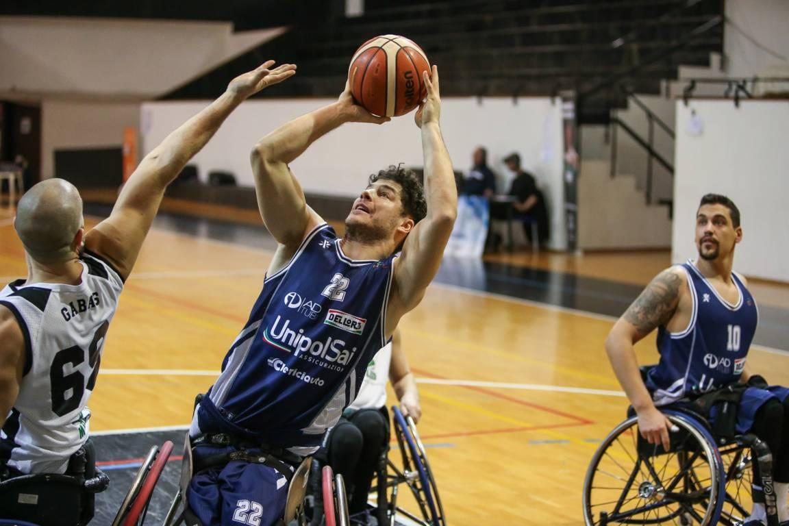 Basket in carrozzina #SerieAFipic 5^ giornata 2021: rullo compressore UnipolSai Briantea84 Cantù che batte l'SBS Montello a domicilio