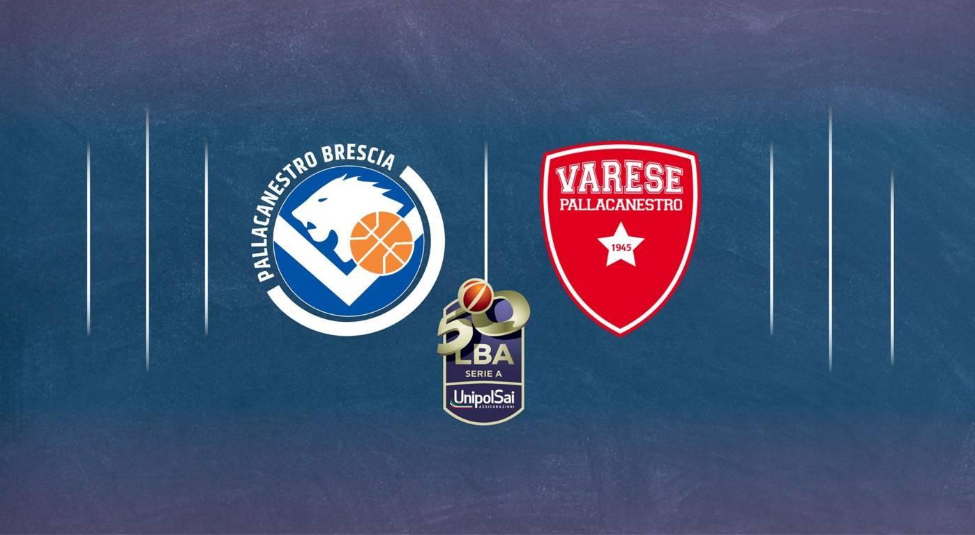 LBA Unipolsai recupero 1^ ritorno 2020-21: adesso la Germani Brescia ci crede a risalire la china ma anche l'Openjobmetis Varese...