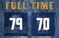 LBA UnipolSai 3^ ritorno 2020-21: l'assenza di Harrison non si sente, quella di Elegar sì. Happy Casa Brindisi vince sulla UnaHotels Reggio Emilia con un Perkins dominante.
