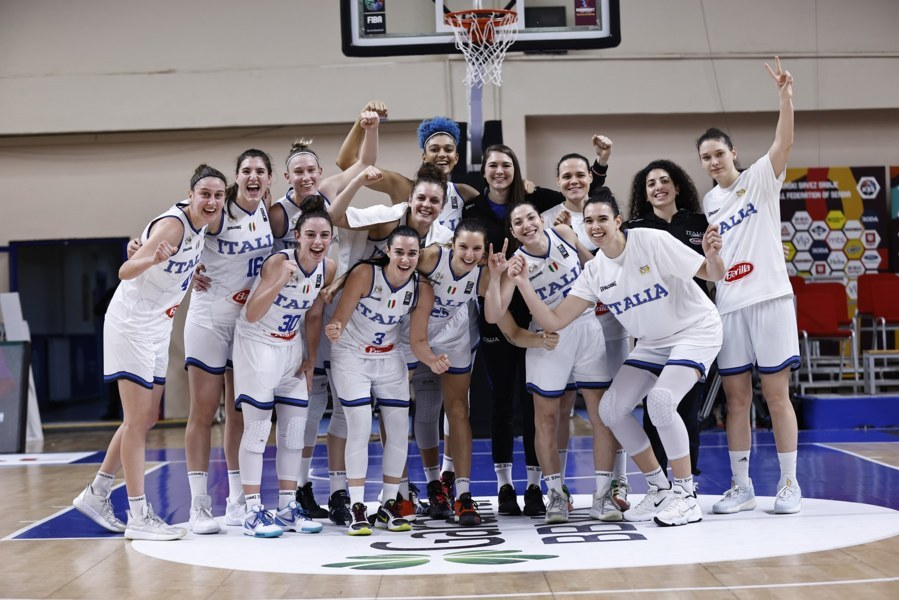 EuroBasket Women's Qualyfin #Round2 2021: l'Italbasket Rosa domina la prima gara del suo girone rifilando 46 punti alla Danimarca