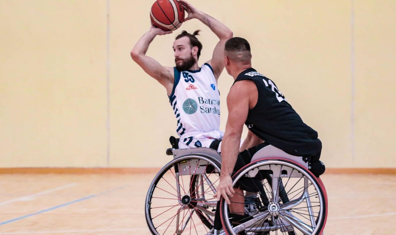 Basket in carrozzina #SerieAFipic 4^ giornata 2021: il S.Stefano Avis si conferma avversario di livello e la Dinamo Lab Sassari cede 71-34