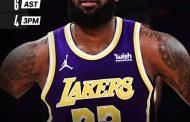 NBA Regular Season 2020-21: i Los Angeles Lakers dominano i Charlotte Hornets con un LeBron James sempre monumentale
