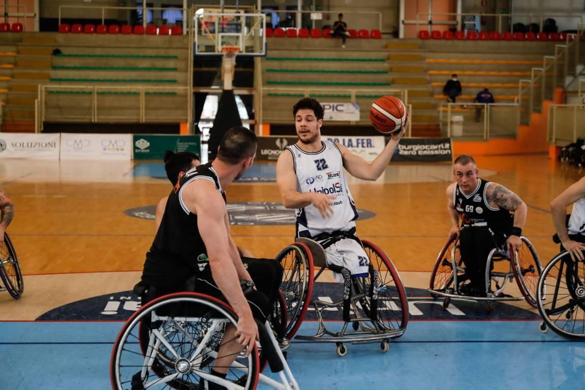 Basket in carrozzina #SerieAFipic 6^ giornata 2021: l'UnipolSai Briantea84 Cantù mantiene il primo posto nel girone B battendo il Key Estate GSD Porto Torres, Playoffs da sabato 6 marzo