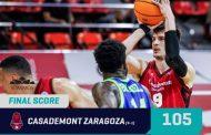 Basketball Champions League #Game4 Playoffs 2021: la Dinamo Sassari ci prova ma il Casademont Zaragoza non si fa impietosire e ne mette 105