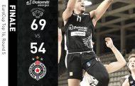 7DAYS Eurocup Top 16 #Round5 2020-21: la solita Dolomiti Energia Trentino bella in Europa rifila +15 al Partizan Belgrado ed ora sogna i Playoff