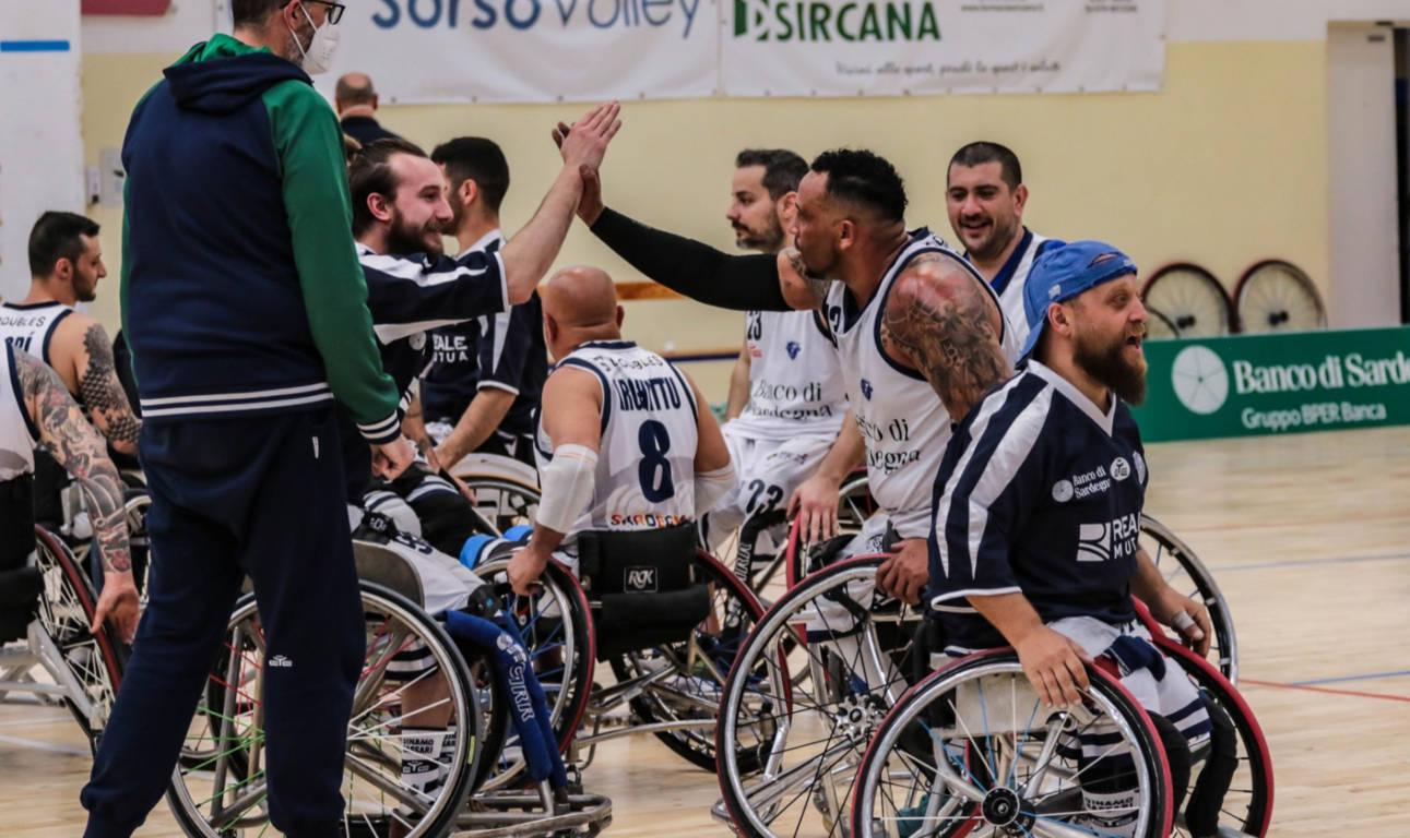 Basket in carrozzina #SerieAFipic 2020-21: spettacolo a Sorso con la Dinamo Lab Sassari che supera il Key Estate Gsd Porto Torres in #Gara1 per il 5° e 6° posto