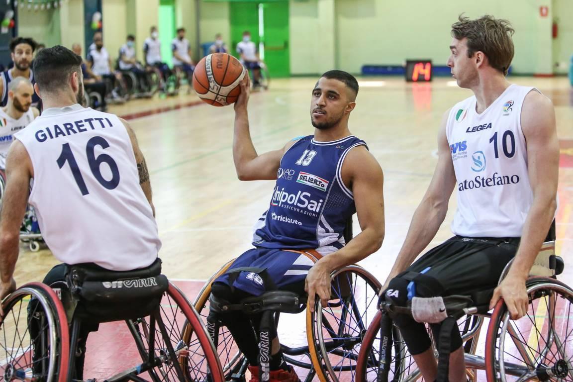 Basket in carrozzina #SerieAFipic Playoff 2021: #Gara2 della Finale Scudetto tra UnipolSai Briantea84 Cantù e S.Stefano Avis sabato 17 aprile ma non solo...