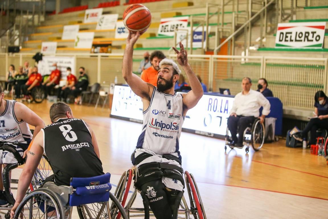 Basket in carrozzina 2021: è online il sito del'ala dell'UnipolSai Briantea84 Cantù e dell'ItalFipic Giulio Maria Papi