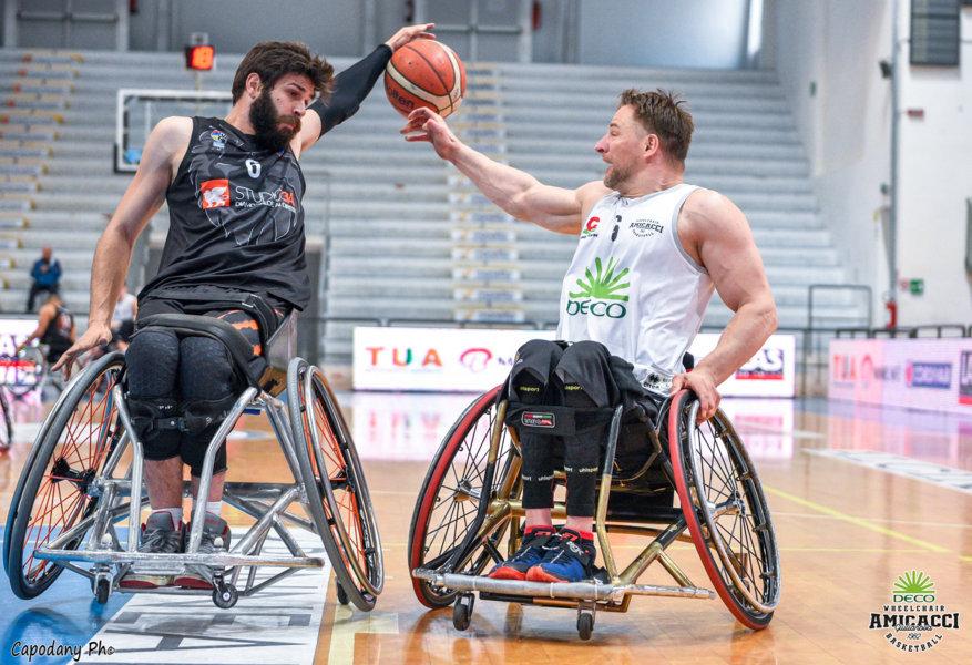 Basket in carrozzina #SerieAFipic Playoff 2021: la Deco Group Amicacci Giulianova si classifica al 3° posto battuto in #Gara2 la sorpresa Padova Millennium Basket