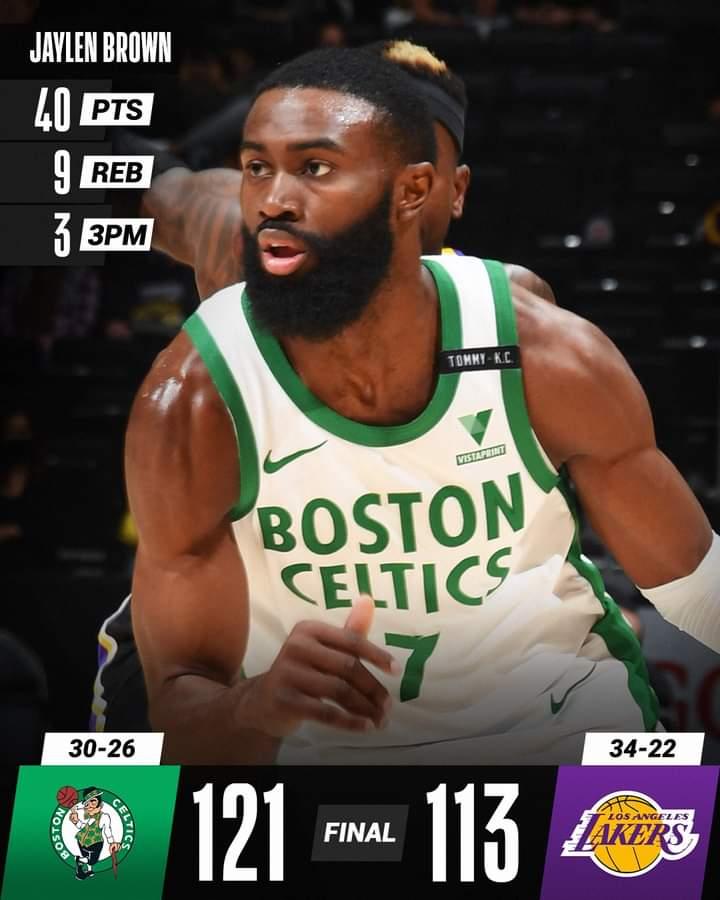 NBA Regular Season 2020-21: Boston Celtics mettono KO i Los Angeles Lakers mentre i Phoenix Suns sono ad un passo dalla vetta, ok anche Bucks e Warriors