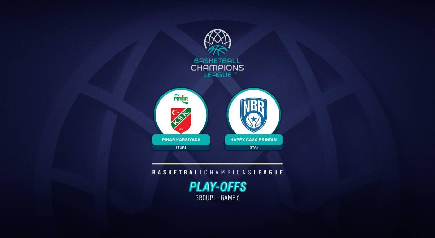 Basketball Champions League preview #Game6 2020-21: la storia dell'Happy Casa Brindisi in Europa passa da Izmir vs il Pinar Karsiyaka