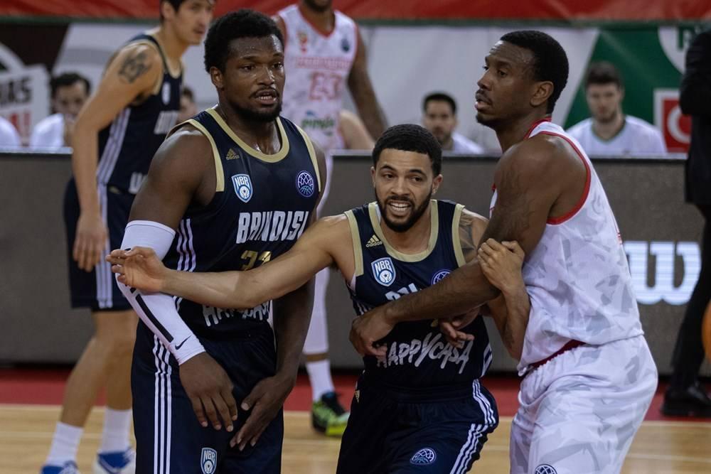 Basketball Champions League #Game6 2020-21: il sogno delle Final Eight per l'Happy Casa Brindisi s'infrange sui 107 punti segnati del Pinar Karsiyaka