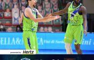 Basketball Champions League recupero #Game5 2020-21: in un match in cui c'è poco da dire la Dinamo Sassari cede in casa dal Nymburk