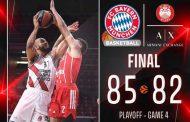 Turkish Airlines Eurolegue Playoff #game4 2020-21: il Bayern Munchen restituisce il KO sul finale all'Olimpia Milano adesso pazzesca #Game5 da #winordie