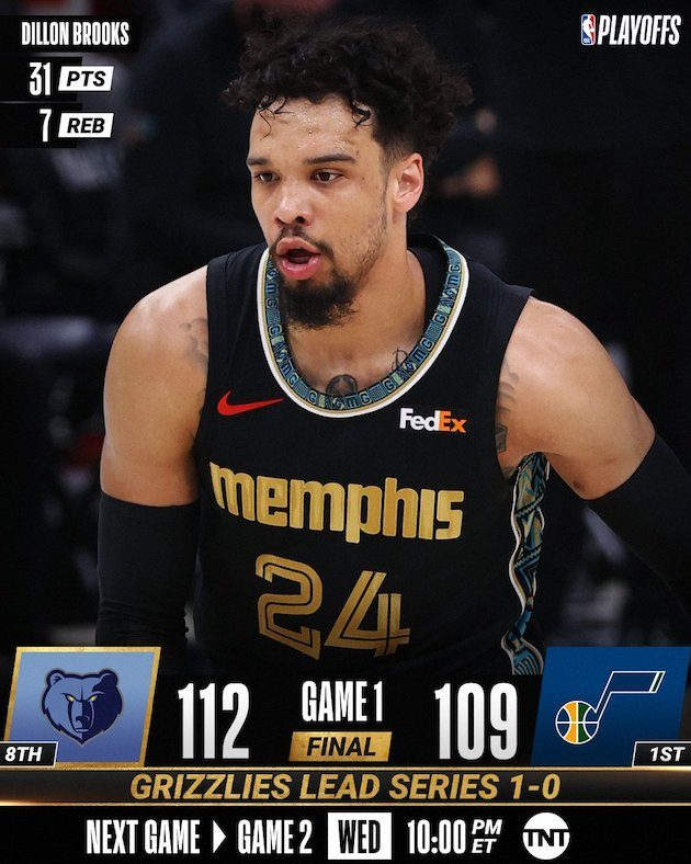NBA Playoffs #Gara1 2021: sorprese ancora ad Ovest i Memphis Grizzlies battono gli Utah Jazz mentre i Phoenix Suns mettono KO i Los Angeles Lakers