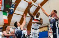 A2 Old Wild West 4^ giornata girone giallo 2020-21: l'Atlante Eurobasket Roma fa un clinic difensivo, la Blu Basket Treviglio s'inchina per 68-57