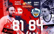 A2 #Gara1 Quarti Playoffs 2020-21: colpaccio al debutto dell'Atlante Eurobasket Roma che espugna il campo di Forlì, 0-1 nella serie