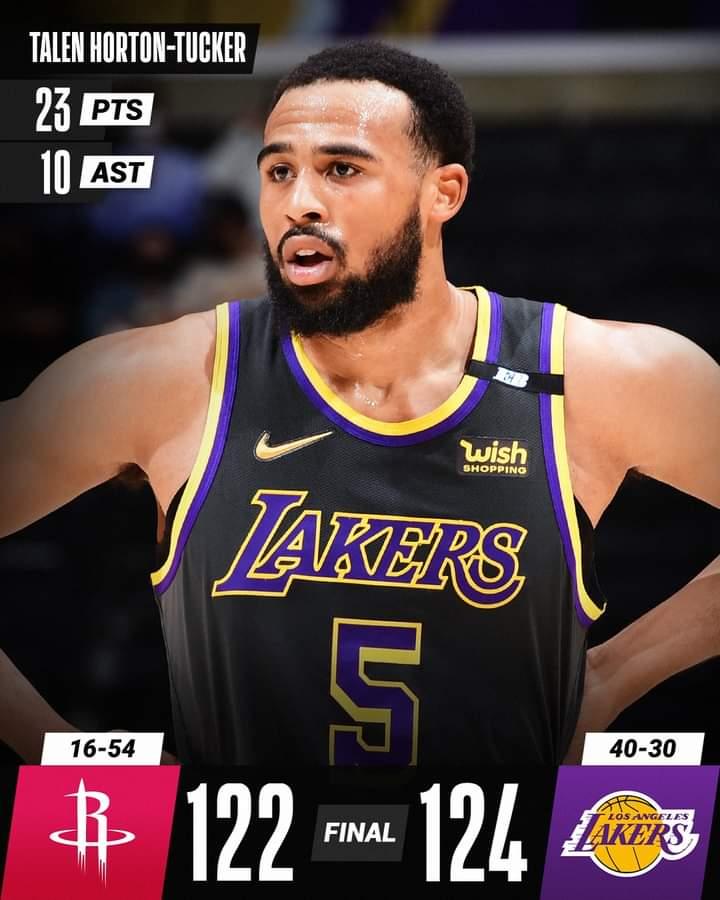 NBA Regular Season 2020-21: i Los Angeles Lakers tremano vs i Rockets, super Lillard consegna la vittoria dei Trail Blazers vs Utah Jazz, ok Mavericks, Spurs (Nets...?), Hawks e Cavs (Celtics...?)