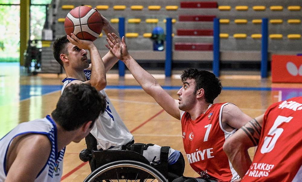 Basket in carrozzina ItalFipic Euro U22M 2021: esordio con sconfitta per l'ItalFipic U22M vs la Turchia ad Euro 2021