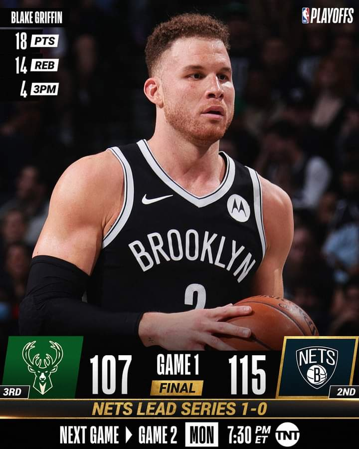NBA Playoffs #Gara1 semifinali 2021: ad Est i Brooklyn Nets s'impongono al debutto nella serie vs i Milwaukee Bucks