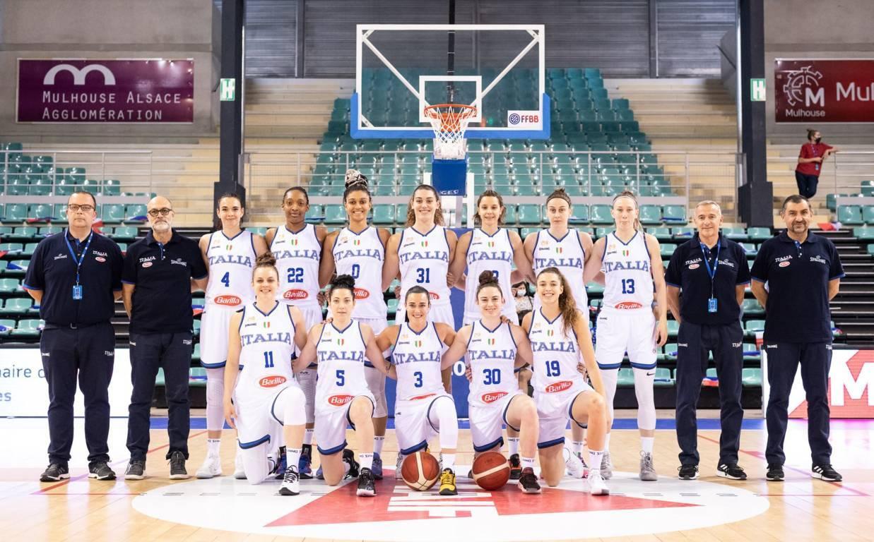 EuroBasket Women 2021: primo match amichevole per l'Italbasket Rosa vs la Francia a Mulhouse e sconfitta al supplementare per 69-61