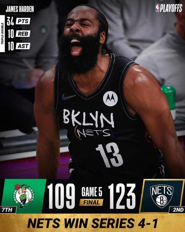 NBA Playoffs Gara5 2021: i Brooklyn Nets vanno in semifinale, 4-1 vs Boston Celtics mentre Denver Nuggets e Phoenix Suns vincono, 3-2 vs Portland Trail Blazers e Los Angeles Lakers