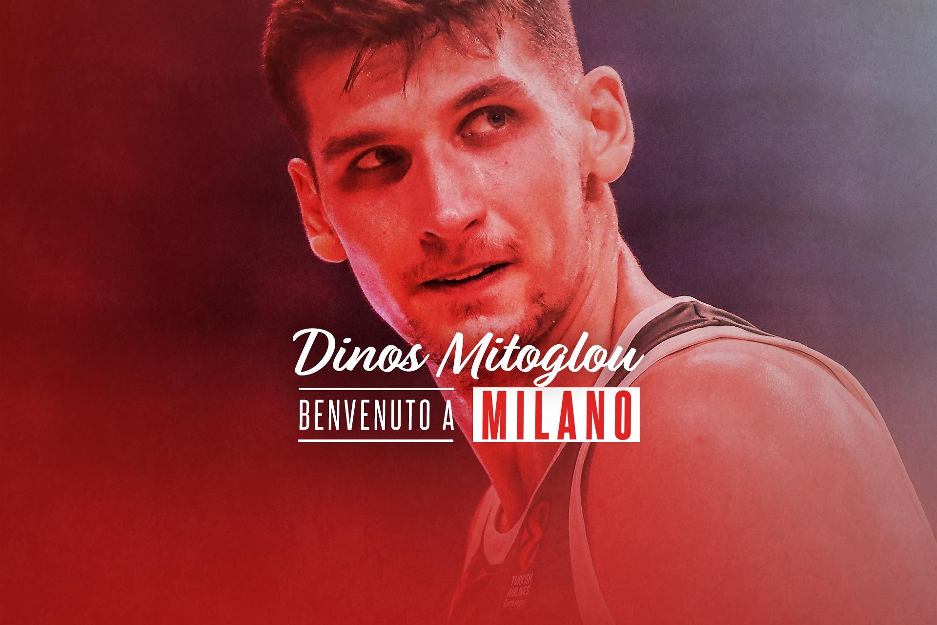 LBA UnipolSai Mercato 2021-22: l'Olimpia Milano accoglie Kostantinos Mitoglou