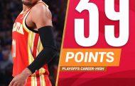 NBA #Gara5 Playoffs Semifinali 2021: battaglia a Philadelphia, gli Atlanta Hawks vanno sul -26 ma poi battono i Sixers 106-109, 2-3 nella serie