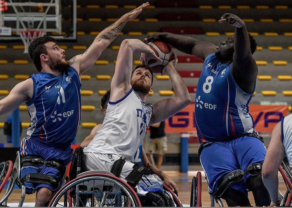 Basket in carrozzina ItalFipic Euro U22M 2021: altro KO l'ItalFipic U22M vs la Francia, adesso due gare per chiudere l'Europeo