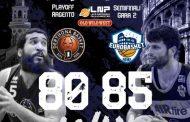 A2 #Gara2 Semifinali Playoffs 2021: incredibile Atlante Eurobasket Roma che batte a domicilio il Derthona Basket all'OT per 80-85 ed ora la serie si sposta nel Lazio