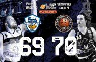 A2 #Gara4 Semifinali Playoffs 2021: il Derthona Basket raggiunge Torino in Finale del Tabellone Argento, battuta ancora sul filo di lana una commuovente Atlante Eurobasket Roma