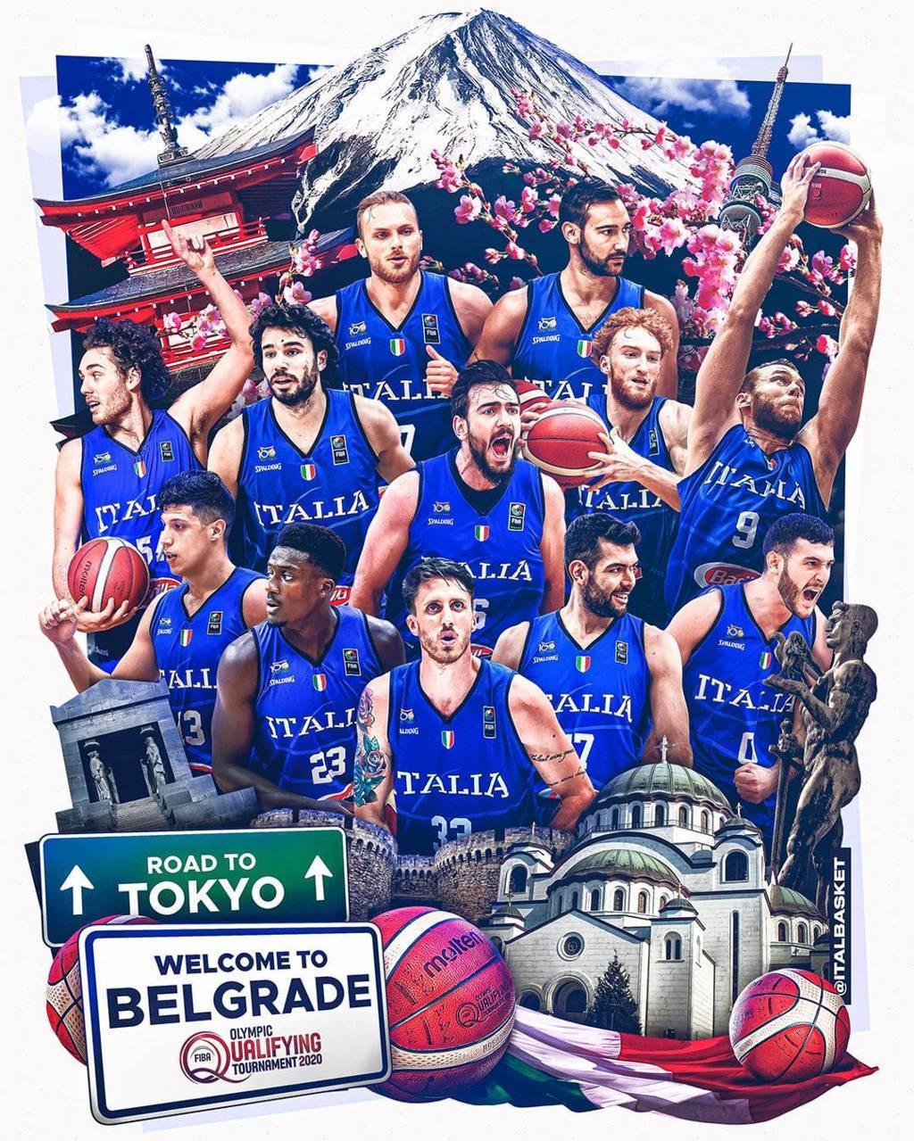 Road to Olympic Qualifyng Tournament 2021: a Belgrado debutta l'Italbasket vs Portorico ma è uno spareggio per evitare la Serbia in semifinale