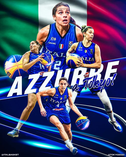 FIBA 3×3 Olympic Qualifying Tournament 2021: missione compiuta per l'Italbasket Rosa, vittoria vs l'Ungheria e si vola a  Tokyo 2020 dopo 25 anni per le ragazze!