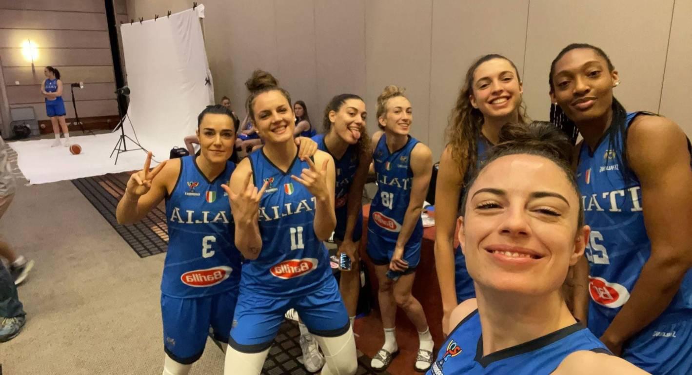 FIBA EuroBasket Women 2021: è tutto pronto per l'Italbasket Rosa all'esordio vs la temibile Serbia