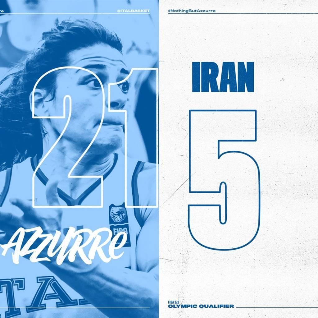 FIBA 3×3 Olympic Qualifying Tournament 2021: bene Italbasket Rosa nel primo giorno in Ungheria, KO Cina Taipei ed Iran, domani ci si gioca Tokyo 2020