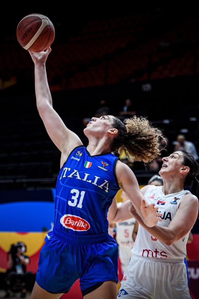 FIBA Eurobasket Women 2021: Italbasket Rosa, che peccato! Le azzurre giocano alla grande ma si sciolgono sul più bello vs la Serbia