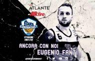 Serie A2 Mercato 2021-22: l'Atlante Eurobasket Roma avrà ancora Capitan Eugenio Fanti in campo nella prossima stagione