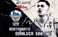 Serie A2 Mercato 2021-22: l'Atlante Eurobasket Roma riporta a casa la combo guard Gianluca Santini